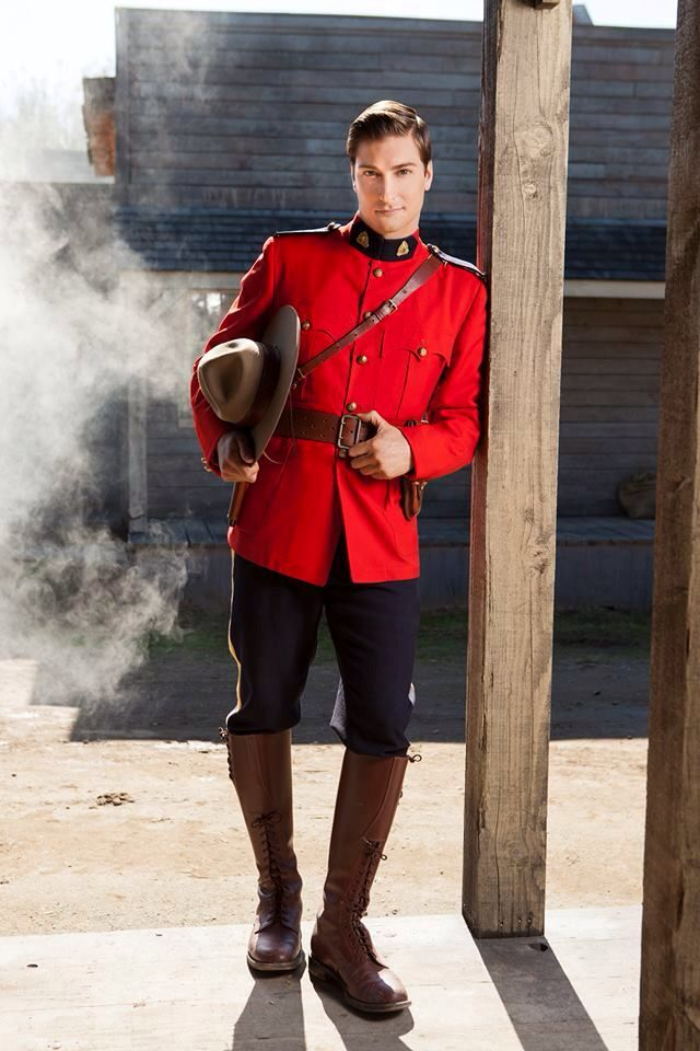 Daniel Lissing - Constable Jack Thornton on When Calls The Heart. Great show!