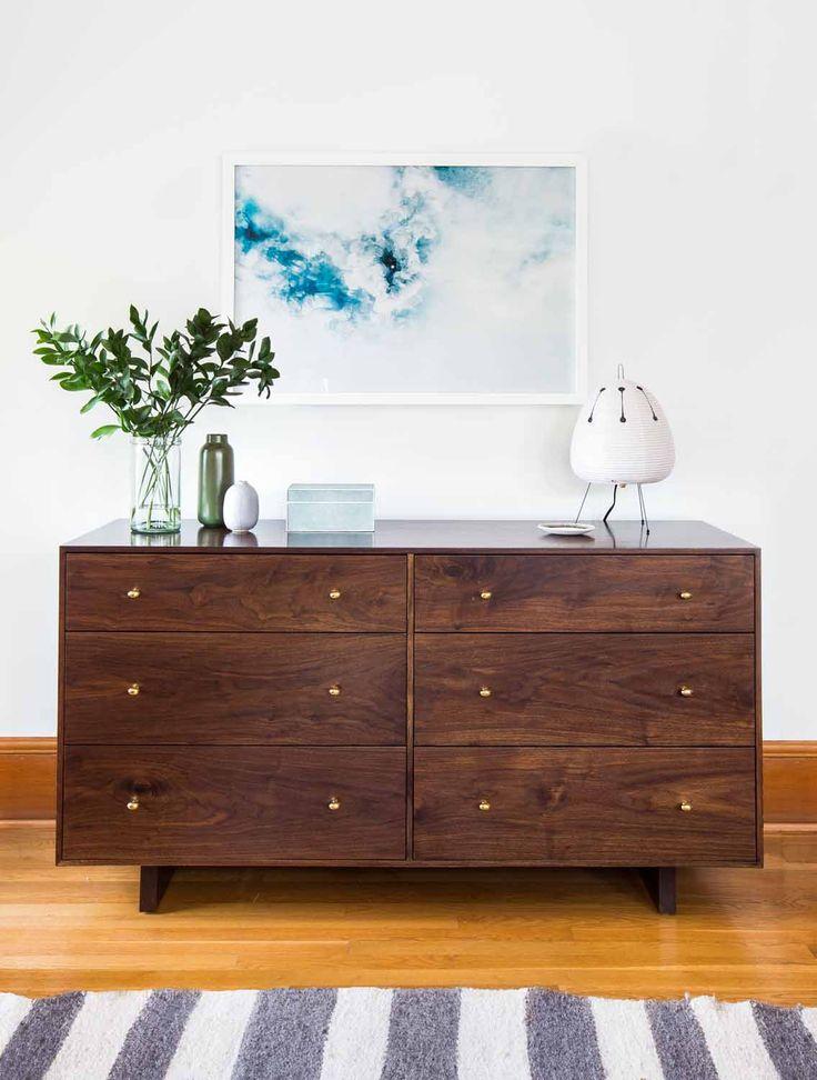 Bedroom drawers vignette