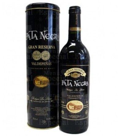 Vinho tinto Espanhol Pata Negra Gran Reserva (Lata)