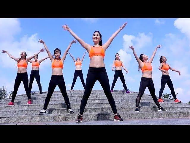 5 Mins Zumba Aerobic Dance Workout Step By Step L Aerobic Dance Workout For Beginners Lzumba Class Workout For Beginners Workout Aerobics