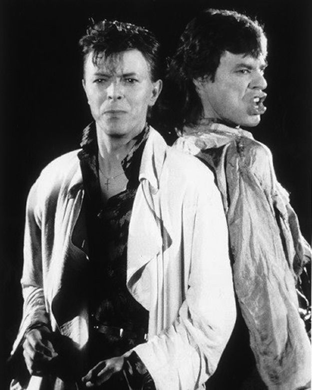 <b>Tales of David Bowie and Mick Jagger