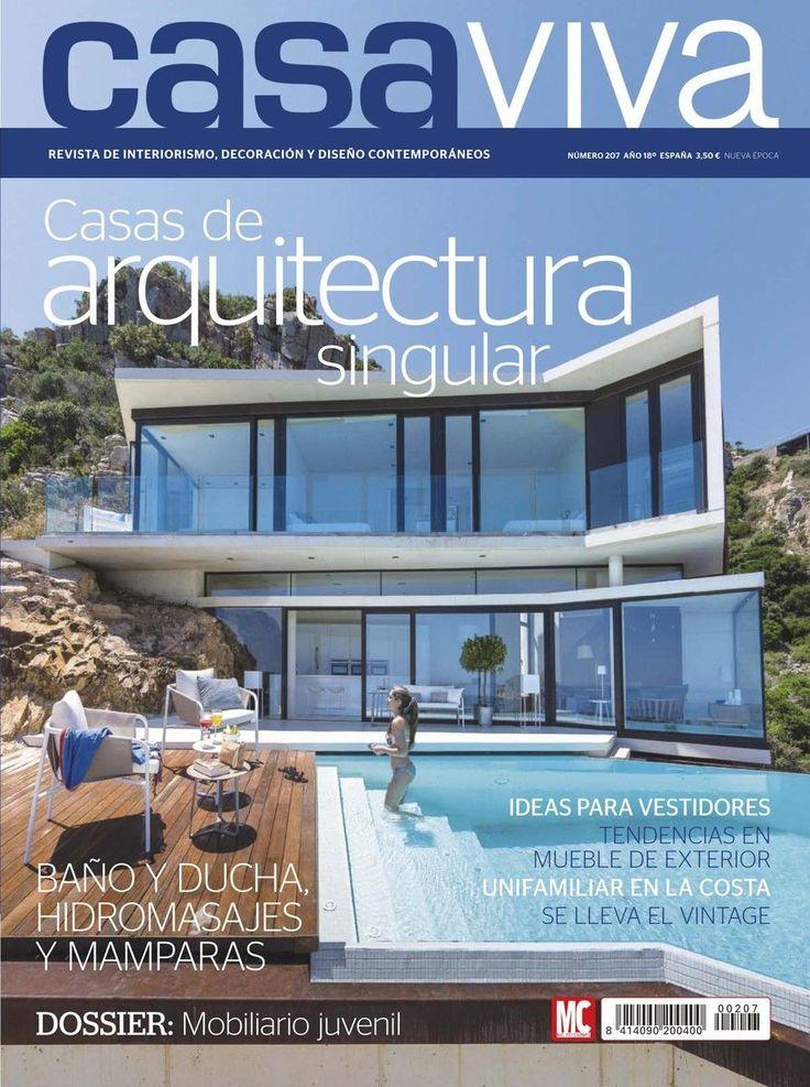 Revista casa viva 207 casas de arquitectura singular for Casa viva muebles