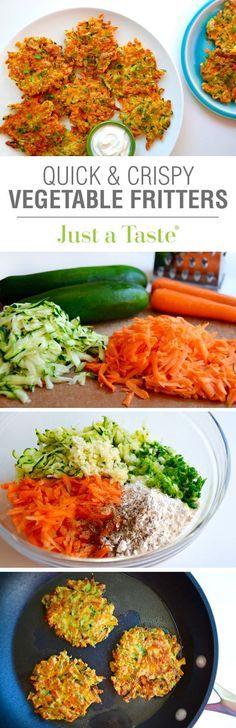 Este aperitivo sorprendente es exquisita y, probablemente, la mejor manera de comer verduras!