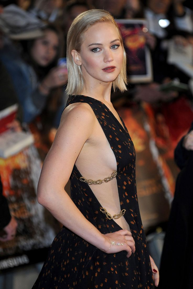 Jennifer Lawrence has a striking new shade of blonde