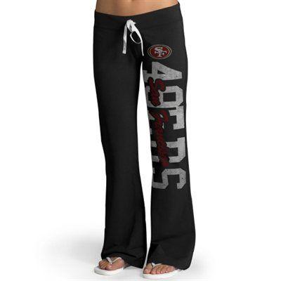 San Francisco 49ers '47 Brand Womens Pep Rally Pants – Black