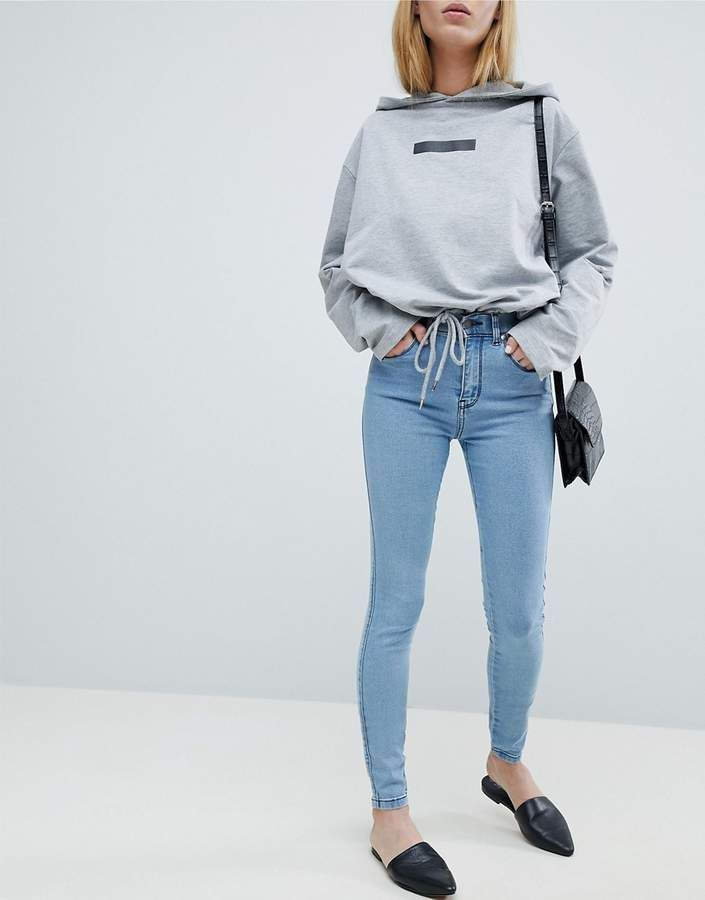 01b562b733 Dr Denim Lexy Mid Rise Skinny Jean in 2019 | Outfits I like | Mid ...
