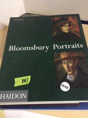 3 Art Books - Bloomsbury Portraits,