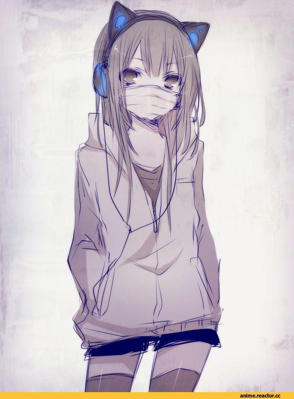 красивые аниме картинки девушек на аву