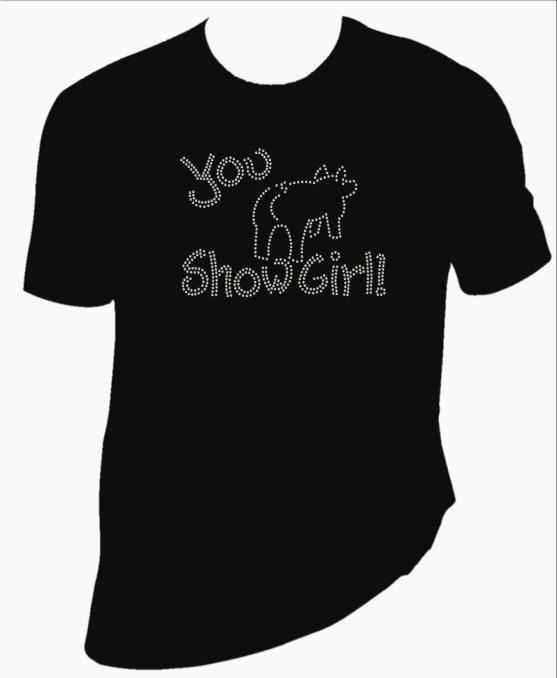 You show girl Rhinestone Shirt by BlingSt on Etsy, $25.00