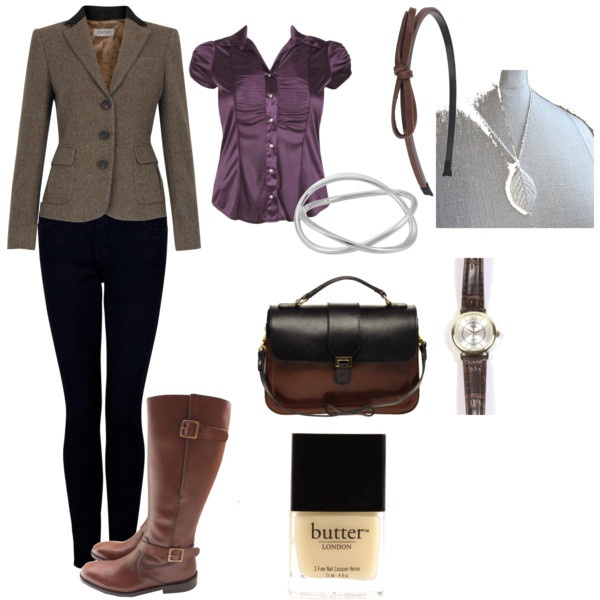 My twist on a British Country look