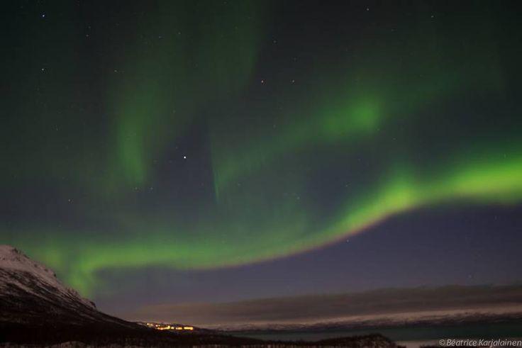 When God painted the skies-Aurora Borealis