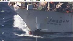 El capitán del barco chino quedará detenido