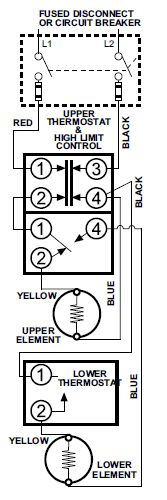 hot water heater element wiring diagram hot image dual heating element wiring diagram dual auto wiring diagram on hot water heater element wiring diagram