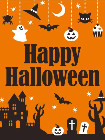Send Free Pop Halloween Card To Loved Ones On Birthday U0026 Greeting Cards By  Davia.