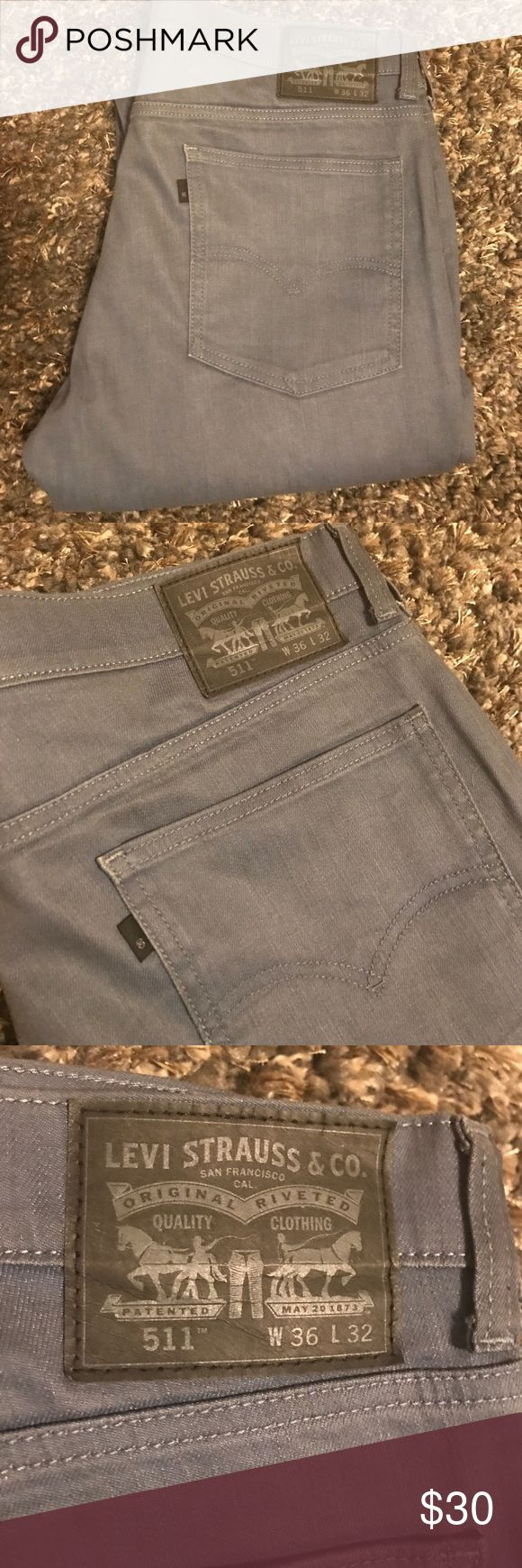 Levi's 511 Levi 511 W36 L32 Great Condition.. Perfect for everyday. Classic Jean 👖 Levi's Jeans Slim