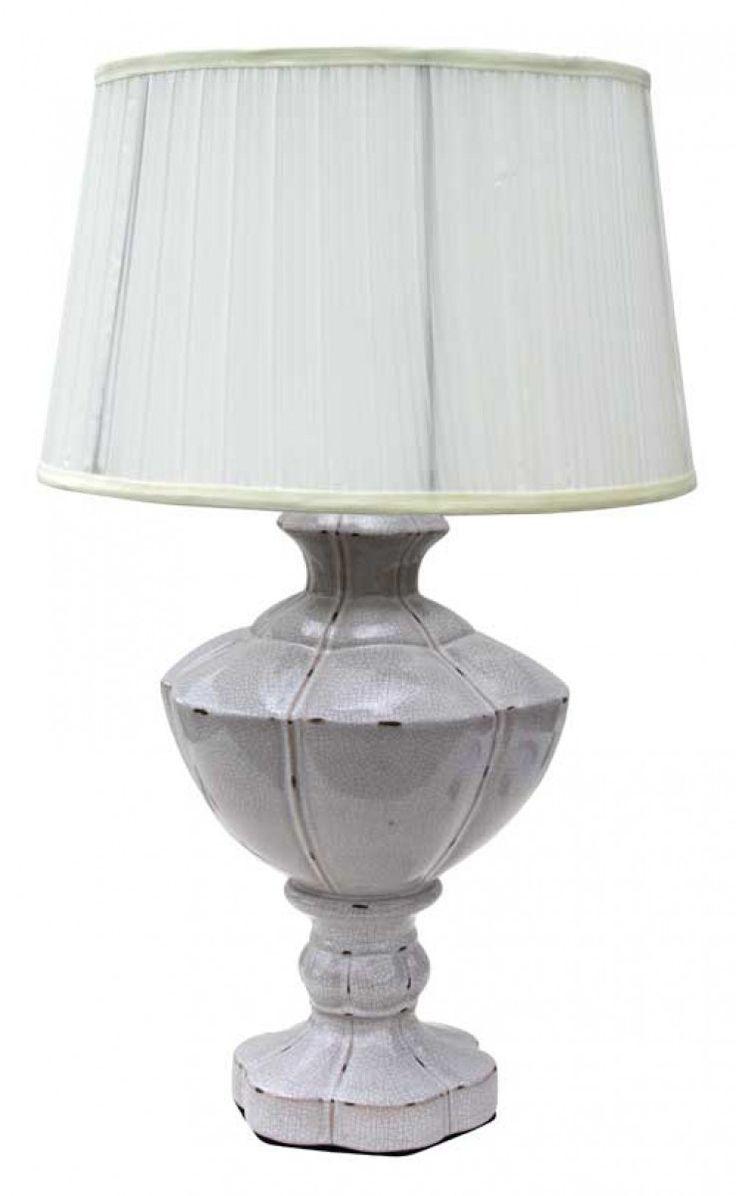 Earth de Fleur Homewares - Crackle Table Lamps Home Decor Set of 2