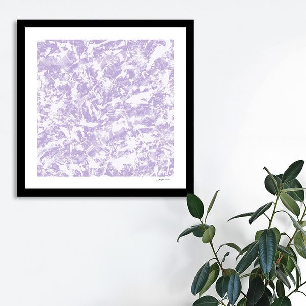Discover «Chaos Blue! purple», Numbered Edition Fine Art Print by gasponce - From 18€ - Curioos