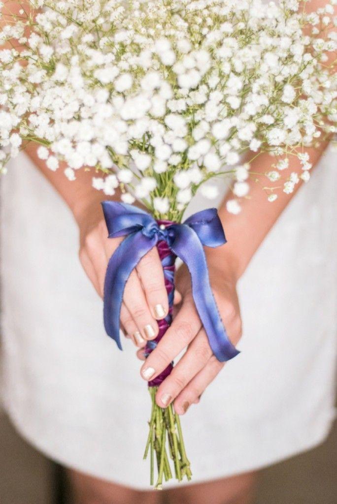 DIY Baby's Breath Bouquet + Boutonniere | The Budget Savvy Bride