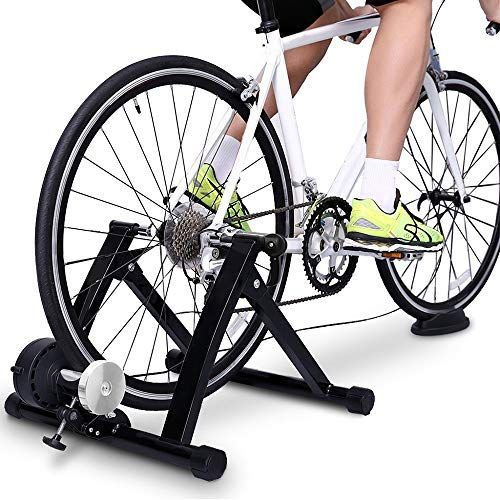 Gxok Bike Trainer Stand Magnetic Bicycle Stationar In 2020 With Images Bicycle Workout Indoor Bike Trainer Bike Trainer