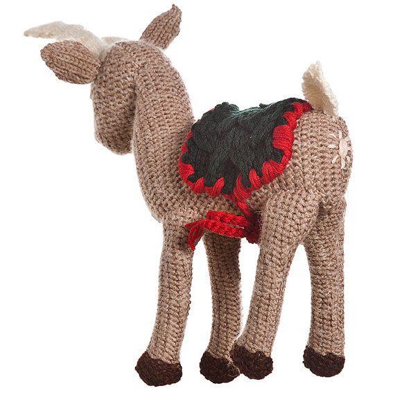 REINDEER RUDOLPH  the king of wool zoo big wool by ZOODILANA, €120.00