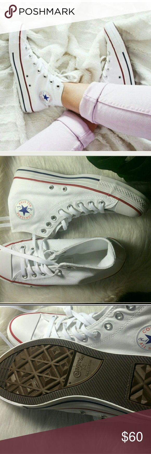 Host Pick Converse Chuck Taylor's High Tops Size 9 Womens No Box EUC Sales Only Converse Shoes Athletic Shoes
