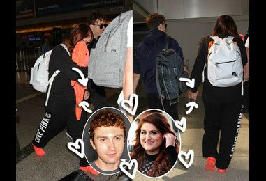 Meghan Trainor & Spy Kids' Daryl Sabara Confirm Relationship By Strolling Through LAX Hand In Hand — LOOK!