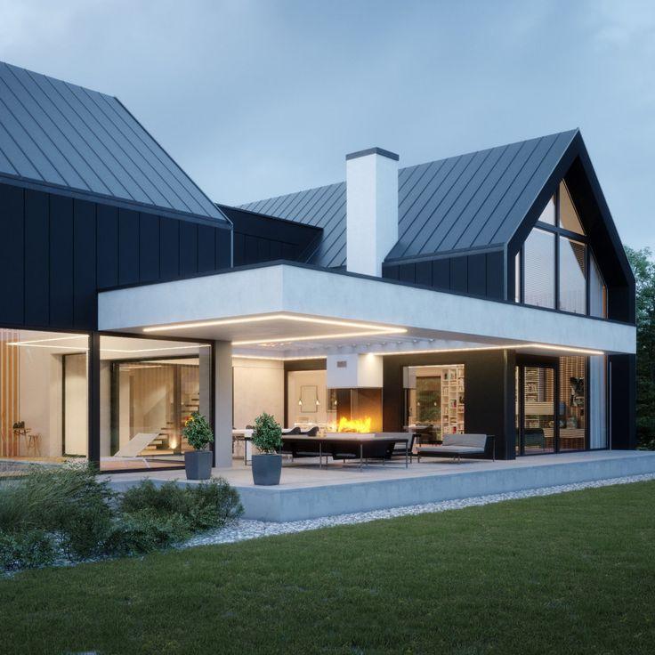 Projekt domu LK&1456. 🏡🙂 Szczegóły znajdzi…