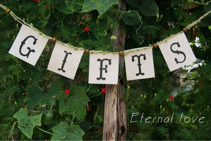 Gifts Canvas Banner