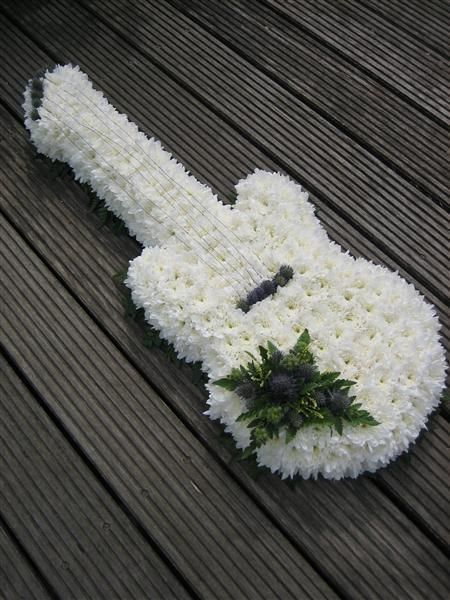 Guitar Funeral Tribute: