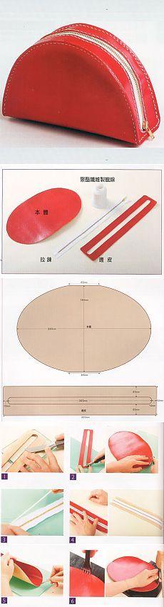 Cómo coser un maquillaje de la piel, modelo |  WomaNew.ru - clases de costura.