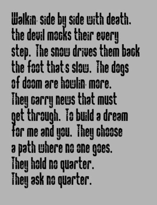 Led Zeppelin - No Quarter - song lyrics, music lyrics, song quotes, music lyrics, songs