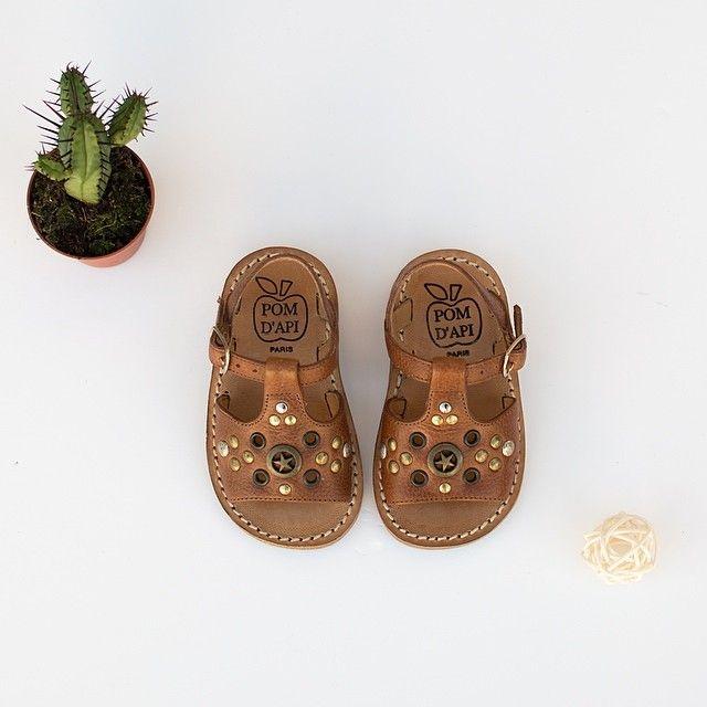 Leather sandals - Pom d'Api