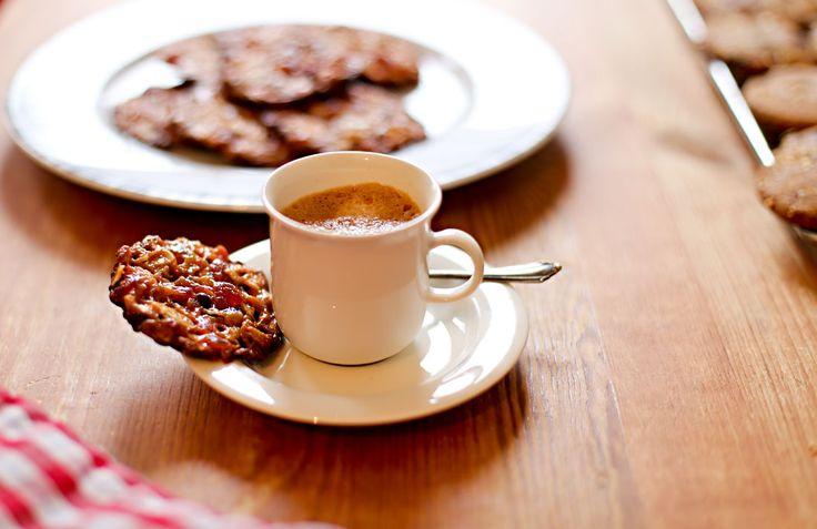Weihnachtsbäckerei: Florentiner Plätzchen
