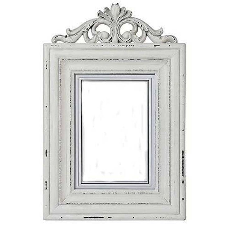 distressed white wooden photo frame - Distressed White Picture Frames