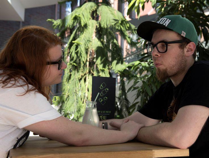 Ysia i Roger - zaręczyny Geek Narzeczonych - Czarny Kotu w Internetach dla Mocem - history of geek engagement