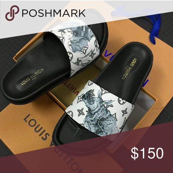 Awesome Louis Vuitton Shoes Louis Vuitton slide flip flops Custom slides Louis Vuitton Shoes Sandals & F... Check more at http://24shopping.ga/fashion/louis-vuitton-shoes-louis-vuitton-slide-flip-flops-custom-slides-louis-vuitton-shoes-sandals-f/