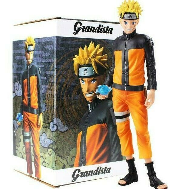 28cm Figure Toys PVC Model Collectible Dolls HOT Anime Naruto Shippuden Uzumaki