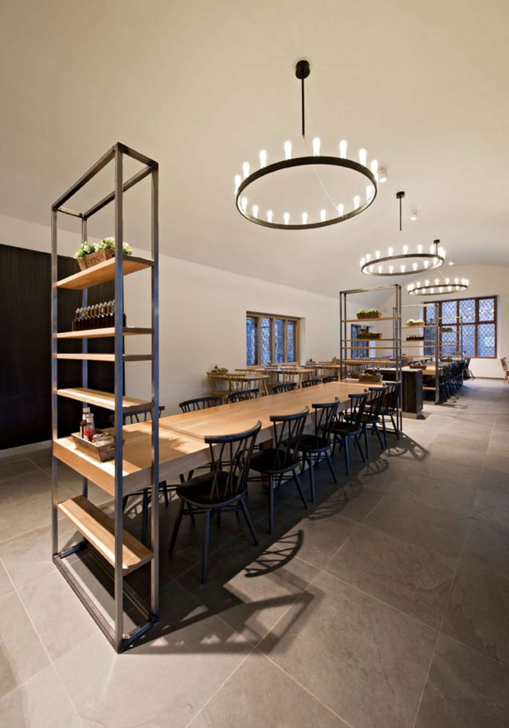 Operating Room Design: An Existing Tea-room For Visitors To Hatfield House Was