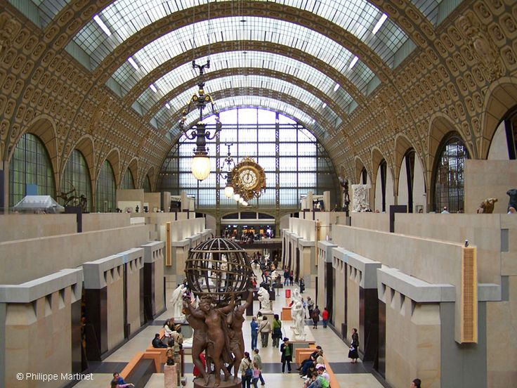 Musee d'Orsay is spectacular- love how they turned the train station into something so beautiful