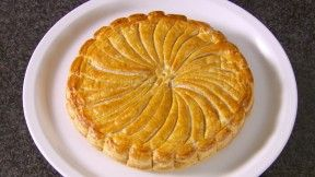 Mary Berry's Frangipane Galette from the Great British Bake Off