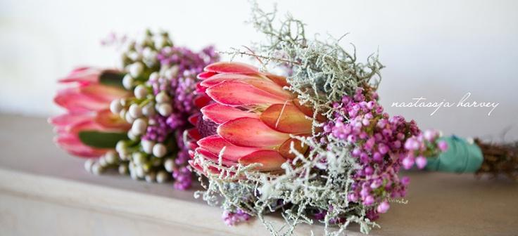 Protea & fynobs bouquet x