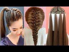15 Peinados para niñas Nuevo con Las Trenzas para el 2018 de Fiestas Cabello ra…