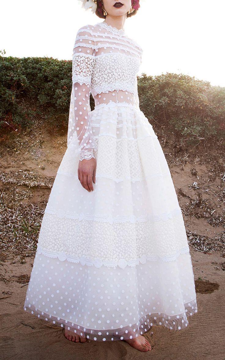 25 best ideas about polka dot wedding dress on pinterest for Dotted swiss wedding dress