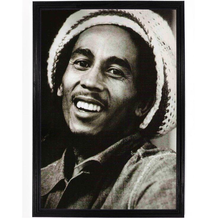 Bob Marley Smiling Poster