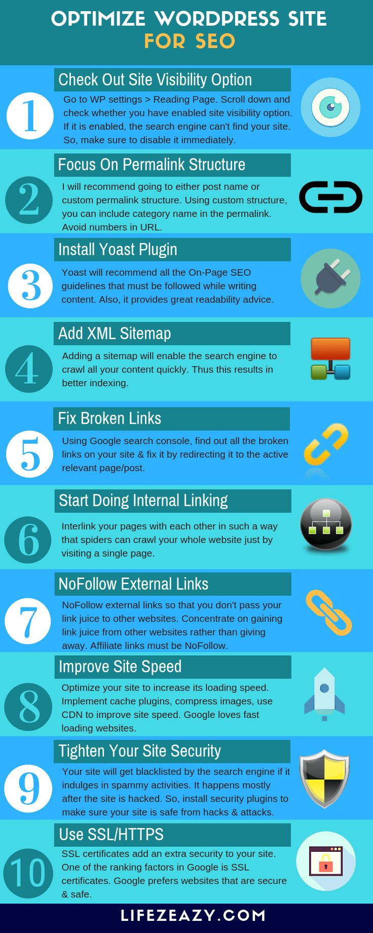 If you want to optimize WordPress site for SEO, check out these 10 steps to make…