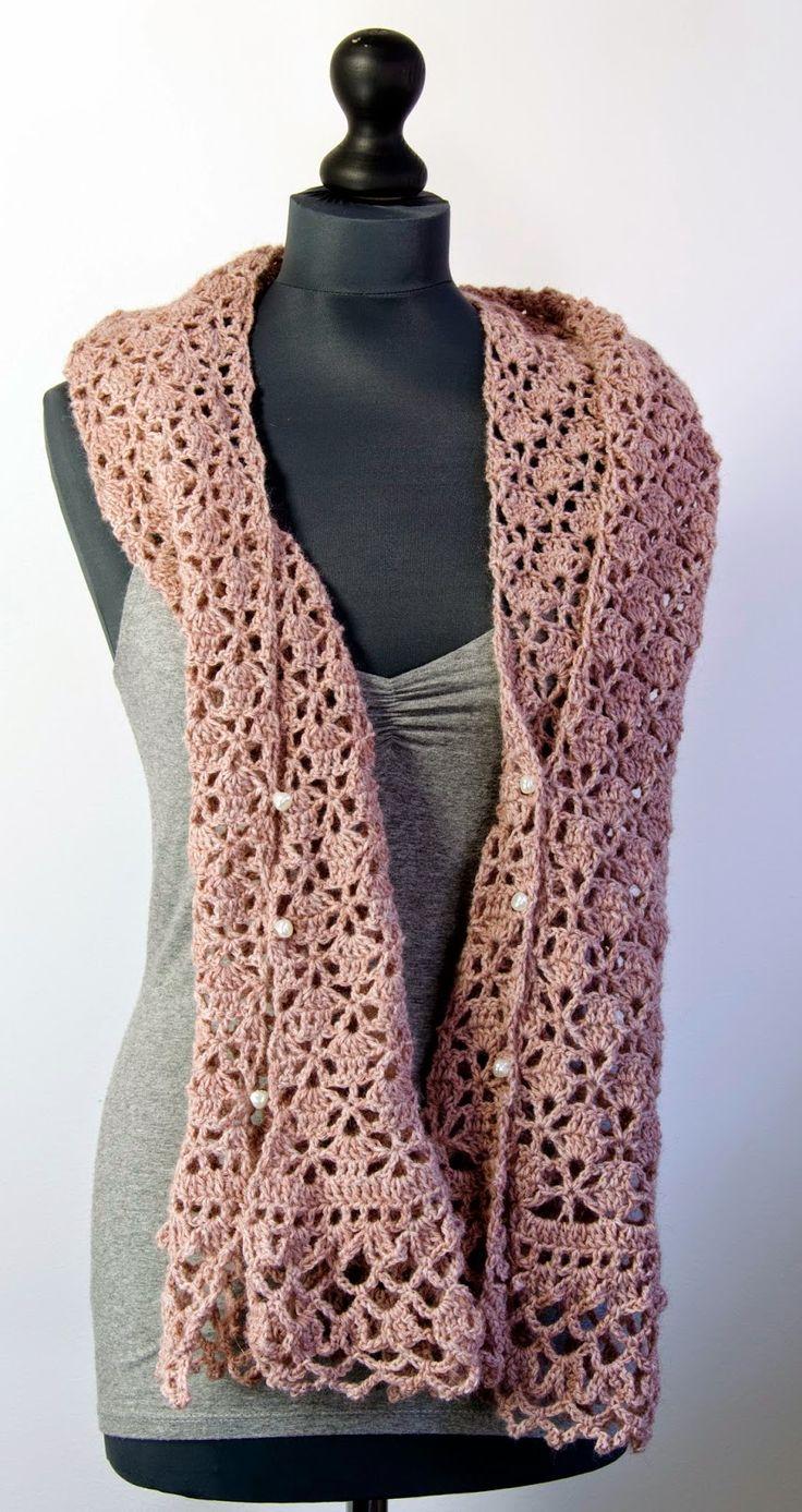 Sjaal/bolero: http://www.wolcafe.nl/Patroon-sjaal/armwarmer-3-bollen-Rico-Fashion-Nature