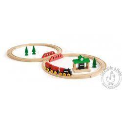 Circuit de train tradition en huit - BRIO