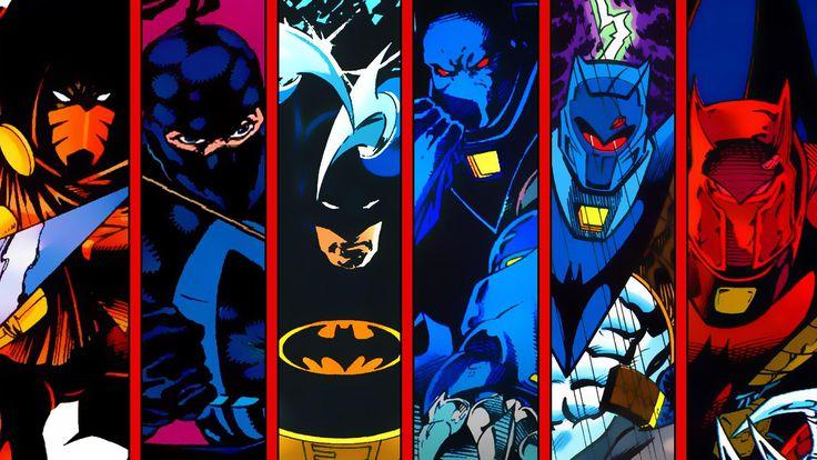 Azrael as Batman in Knightfall [1920x1080] Need iPhone