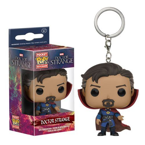 Pre-Order Release Date: November 2016 It's always a good idea to have a Sorcerer Supreme on hand! Based on Marvel's Doctor Strange film, you can bring a miniature Steven Strange everywhere! This Docto
