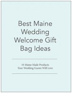 Maine Wedding Gift Bag Ideas : Wedding Guest Bags Maine Wedding Photographer